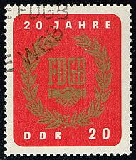 Buy Germany DDR #773 Free German Trade Union; CTO (0.25) (3Stars) |DDR0773-01