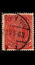 Buy GERMANY REICH Dienst [1920] MiNr 0022 ( O/used )