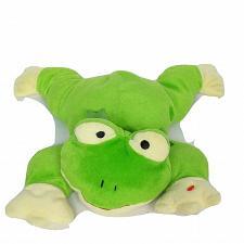 "Buy Ty Pillow Pals Green Frog Ribbit Plush Stuffed Animal 1996 Retired 13.5"""