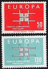 Buy TÜRKEI TURKEY [1963] MiNr 1888-89 ( **/mnh ) CEPT