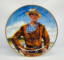 Buy JOHN WAYNE THE DUKE Franklin Mint Porcelain Collector Plate LIMITED EDITION