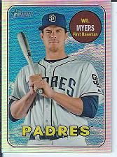 Buy Wil Myers 2018 Topps Heritage Chrome Refractor #ed / 569