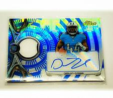 Buy NFL DAVID COBB TENNESSEE TITANS AUTOGRAPHED 2015 TOPPS FINEST ROOKIE PATCH /150