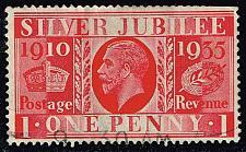 Buy Great Britain #227 Silver Jubilee; Used (1.75) (1Stars)  GBR0227-02XRS