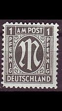Buy GERMANY Alliiert AmBri [1945] MiNr 0016 C ( **/mnh )