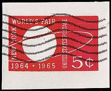 Buy US #U546 New York World's Fair; Used Cut Square (2Stars) |USAU546-03