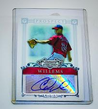 Buy MLB COLTON WILLEMS WASHINGTON NATIONALS AUTOGRAPHED 2006 BOWMAN STERLING RC MINT