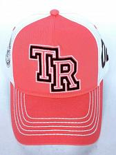 Buy True Religion Men's World Tour 2002 Baseball Strapback Hat Cap Coral White
