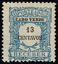 Buy Cape Verde #J28 Postage Due; Unused (3Stars) |CPVJ28-01XRS