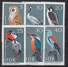 Buy GERMANY DDR [1967] MiNr 1272-77 ( **/mnh ) Tiere
