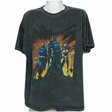 Buy DC Comics Batman Superman Wonder Woman Superhero T-Shirt 2XL Short Sleeve