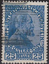 Buy LIECHTENSTEIN [1912] MiNr 0003 x ( O/used ) [01]