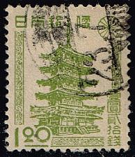 Buy Japan #385 Horyu Temple Pagoda; Used (3Stars)  JPN0385-01