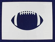 Buy Extra Large Football Stencil 14 Mil Painting /Crafts/ Templates