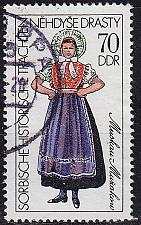 Buy GERMANY DDR [1977] MiNr 2214 ( OO/used ) Trachten