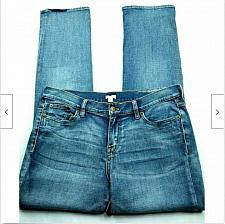 Buy J Crew Colorado Boyfriend Straight Leg Jeans Size 28 Distressed Stretch