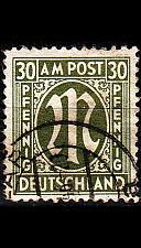 Buy GERMANY Alliiert AmBri [1945] MiNr 0029 c A ( O/used )