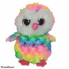 Buy Ty Beanie Boos Owen Tie Dye Owl Bird Stuffed Animal Plush 2017 6.5""