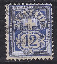 Buy SCHWEIZ SWITZERLAND [1882] MiNr 0055 Y a ( O/used )