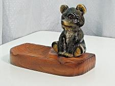 Buy RARE Large Vintage Porcelain Teddy Bear Figural Ashtray Snuffer Japan MINT