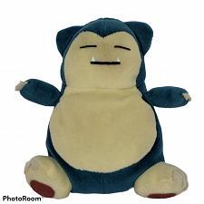 """Buy Vtg Pokemon Nintendo Snorlax Hasbro Plush Stuffed Animal Game Freak 1998 6"""""""
