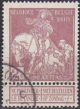 Buy BELGIEN BELGIUM [1910] MiNr 0086 I ( O/used )