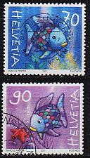 Buy SCHWEIZ SWITZERLAND [2001] MiNr 1767-68 ( O/used ) Tiere