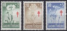 Buy FINLAND SOUMI [1959] MiNr 0509-11 ( **/mnh ) Pflanzen