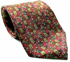 Buy Jos A Bank Collection Men's Golf Tie All Over Print Novelty 100% Silk