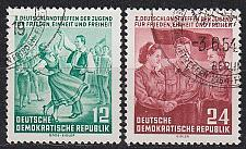 Buy GERMANY DDR [1954] MiNr 0428-29 ( O/used )