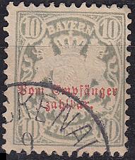 Buy GERMANY Bayern Bavaria [Porto] MiNr 0006 ( O/used ) [01]