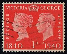 Buy Great Britain #253 Victoria and George VI; Used (0.40) (5Stars) |GBR0253-01XVA