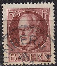 Buy GERMANY Bayern Bavaria [1916] MiNr 0101 II A ( O/used )