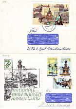 Buy GERMANY DDR [1979] MiNr 2441-42 Block 55 ( Brief ) [01] Bauwerke
