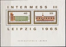 Buy GERMANY DDR [1965] MiNr 1126 Block 24 ( **/mnh ) Bauwerke