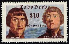 Buy Cape Verde #278 Vicente Dias and Goncalo de Cintra; Unused (2Stars) |CPV0278-04XRS