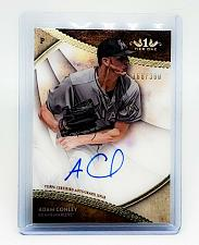 Buy MLB ADAM CONLEY MIAMI MARLINS AUTOGRAPHED 2017 TOPPS TIER ONE BASEBALL /300 MINT