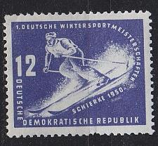 Buy GERMANY DDR [1950] MiNr 0246 ( **/mnh ) [01] Sport