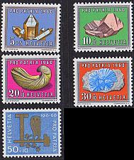 Buy SCHWEIZ SWITZERLAND [1960] MiNr 0714-18 ( **/mnh ) Pro Patria