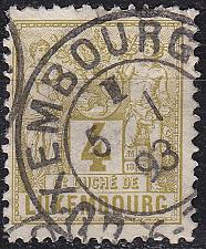 Buy LUXEMBURG LUXEMBOURG [1882] MiNr 0047 D ( O/used )