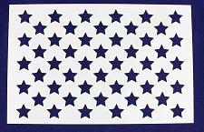 "Buy 50 Star Field Stencil 14 Mil -17""W X 11""H - Painting /Crafts/ Templates"