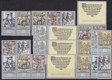 Buy GERMANY DDR [1975] MiNr 2013-18 Zdr ( **/mnh ) [01] div. Zusammendricke