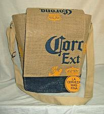 Buy Corona Beer Burlap Cross Body Messenger Bag Beer Tote 10 x x 7 Beach Picnic