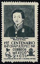 Buy Mexico #830 Cadet Francisco Marquez; Unused (0.45) (2Stars)  MEX0830-02XRS