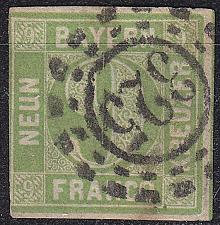 Buy GERMANY Bayern Bavaria [1850] MiNr 0005 I d ( O/used ) [01]