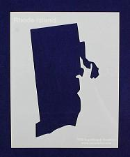 Buy State of Rhode Island Stencil 14 Mil Mylar - Painting /Crafts/ Templates