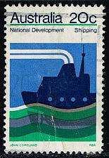 Buy Australia #550 Shipping Industry; Used (1.40) (0Stars) |AUS0550-03XBC