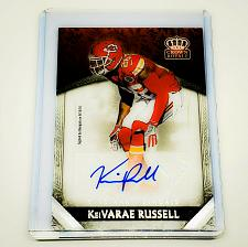 Buy NFL KAVARI RUSSELL BENGALS AUTOGRAPHED 2016 PANINI CROWN ROYALE FOOTBALL MINT