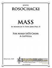 Buy Rosochacki - Mass in Honor of John Paul II