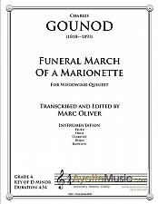Buy Gounod - Funeral March of a Marionette